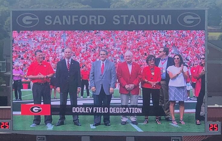 Dooley Field Dedication